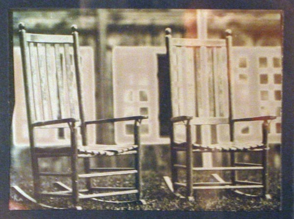 Rocking Chairs daguerreotype (c) Jonathan Danforth